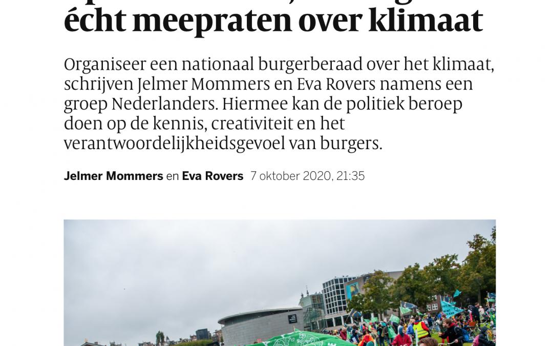 Burgerberaad over het klimaat